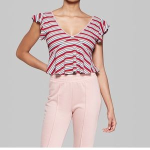 Wild fable by target crop top